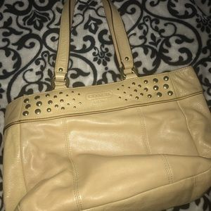 Coach Bag with Studs
